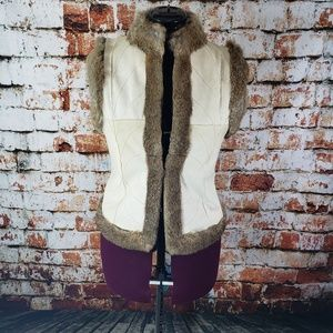 Other - Reversible rabbit fur sleeveless vest